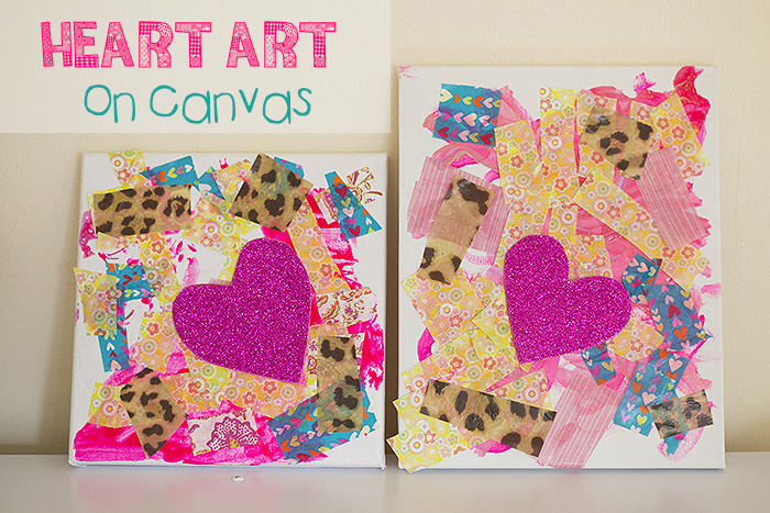 heart art for kids
