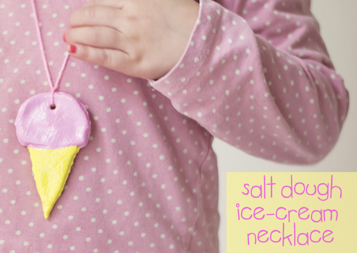 alt Dough Ice-Cream Necklace