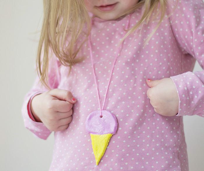 alt Dough Ice-Cream Necklace