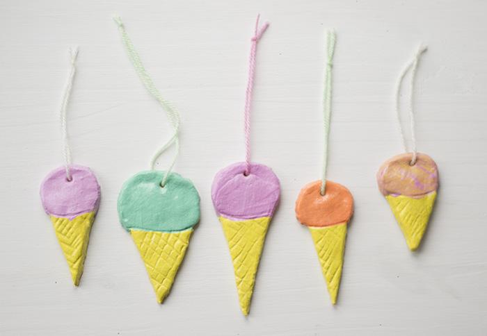 Salt Dough Ice-Creams