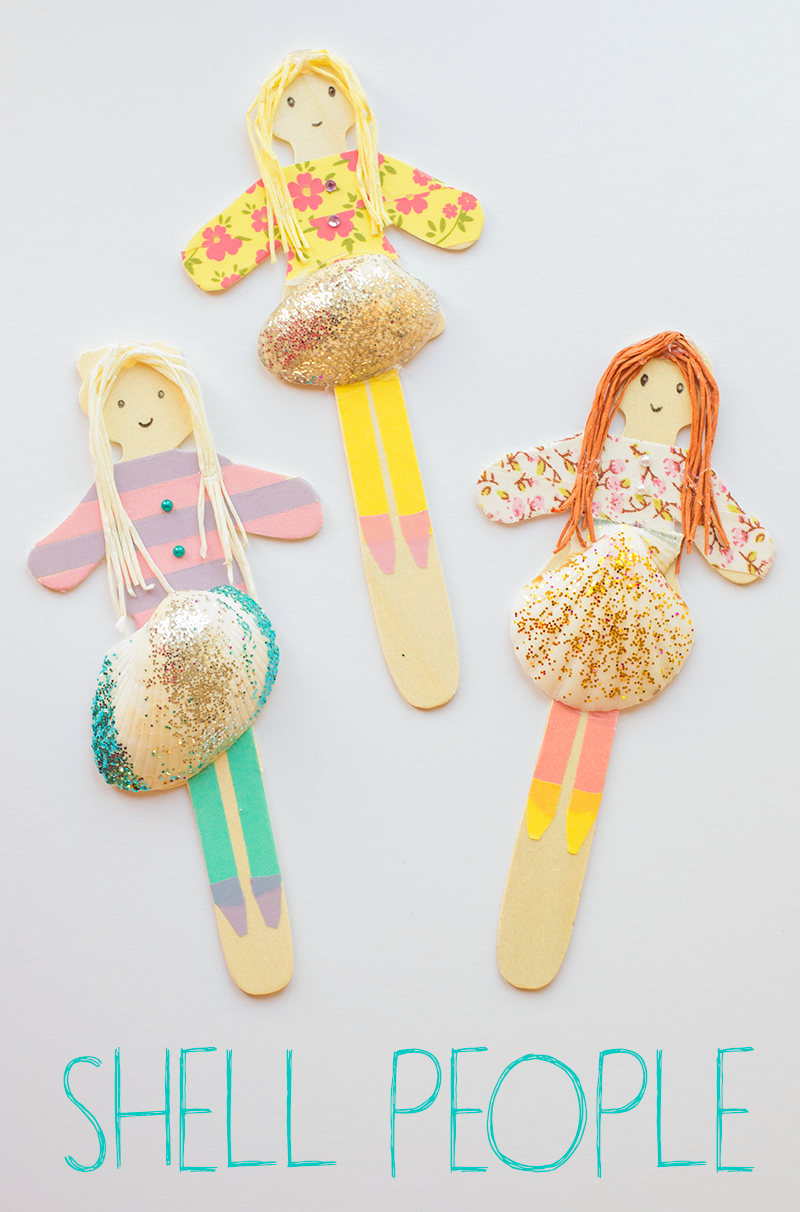 SHELL-PEOPLE-MADE-FROM-LOLLY-STICKS