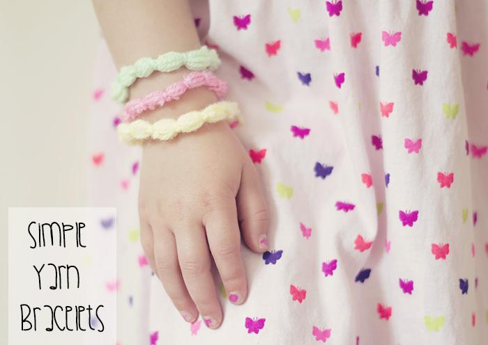 Yarn jewelry