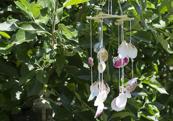 sea shell windchime 2