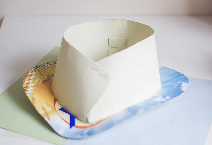 Cardboard Hat 3