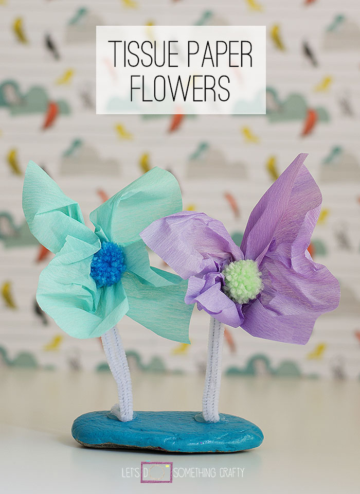 Rock Crafts: Flower Window Decorations
