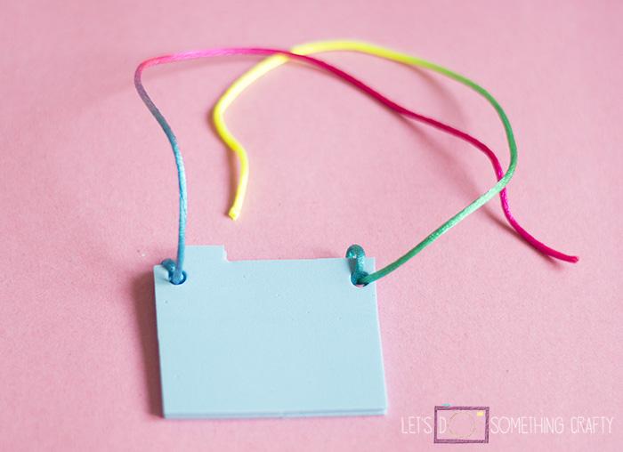 Jewelry Crafts: DIY Locket Necklace