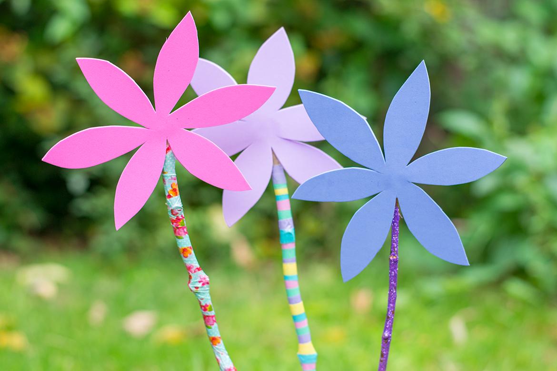 stick-flowers
