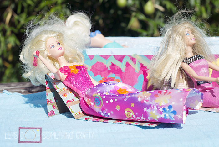 crafts for kids - diy barbie swimming pool