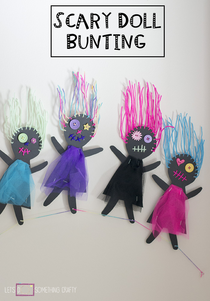 SCARY DOLL BUNTING PINTEREST