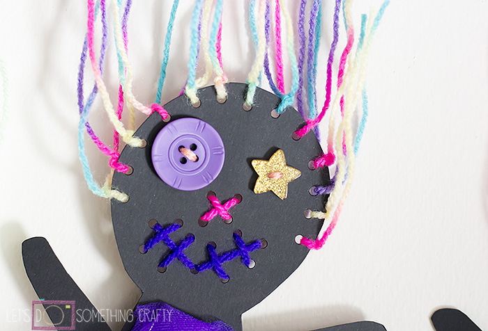 Scary Doll Bunting 1