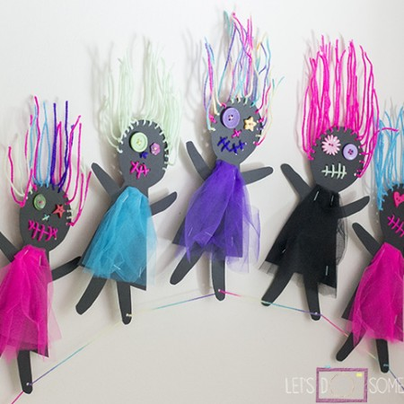 Scary Doll Bunting 6