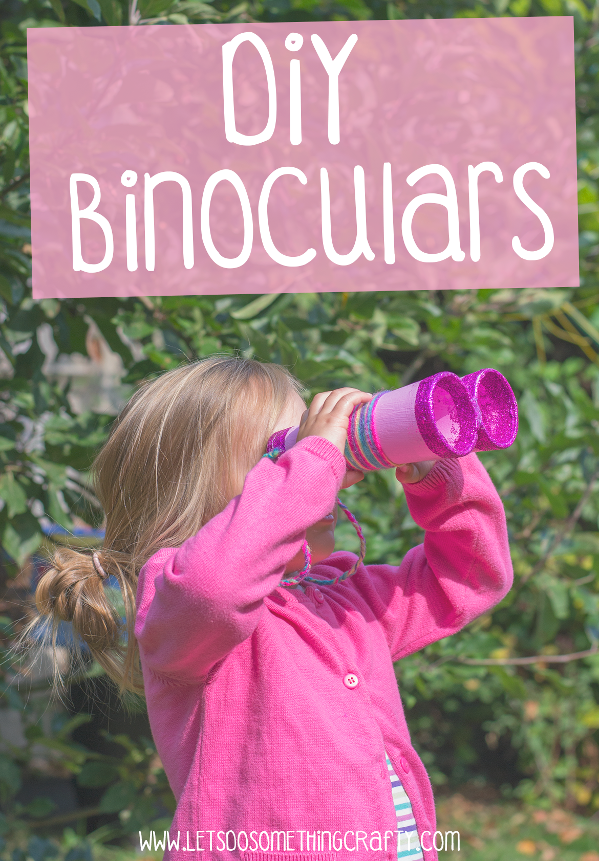 how to make kids binoculars