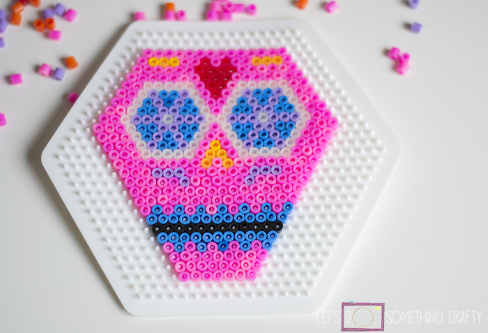 day of the dead hama perler beads 2