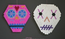 day of the dead hama perler beads 3