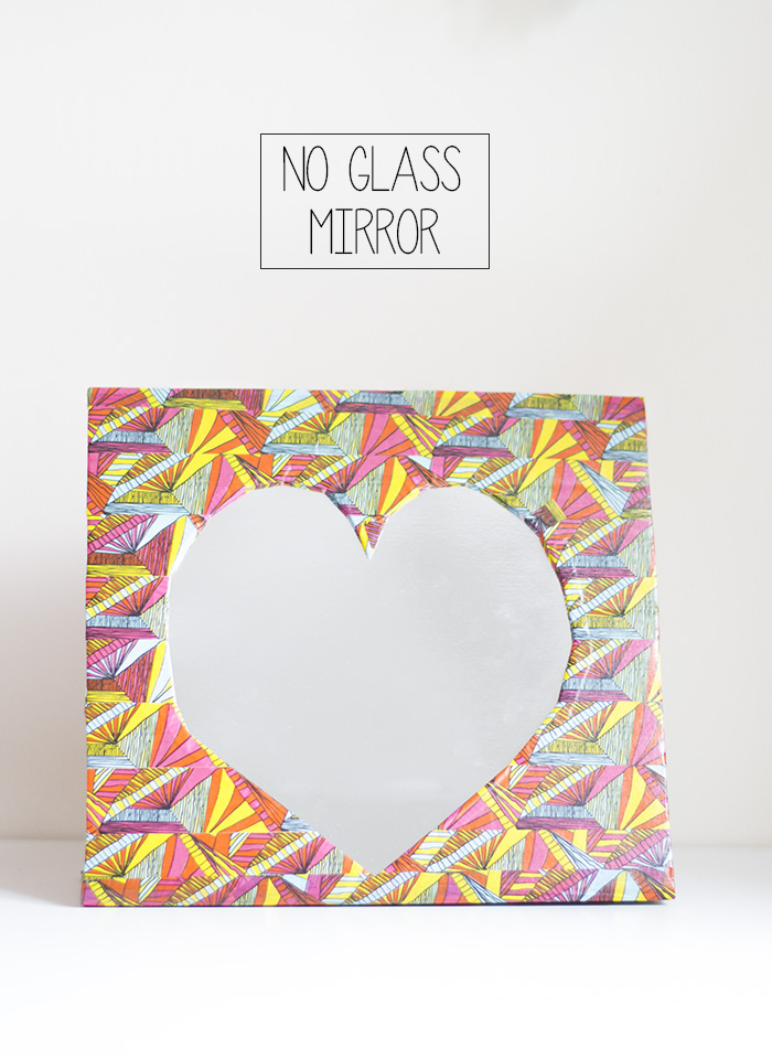 no glass mirror