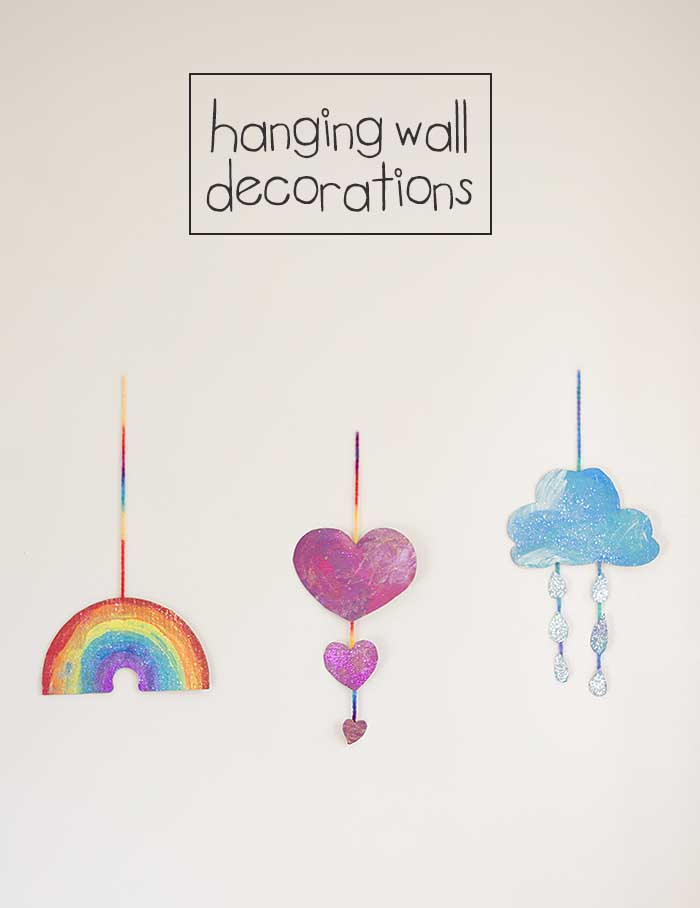 hanging wall decorations pinterest