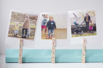 DIY polaroid photo frame