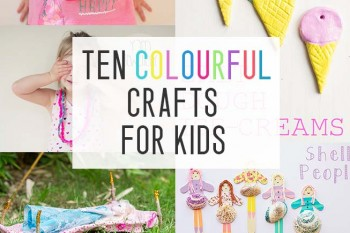 ten colourful crafts - featured image