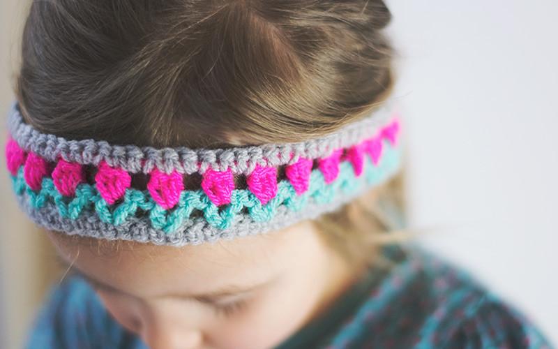 Flower Crochet Headbands – How To Make