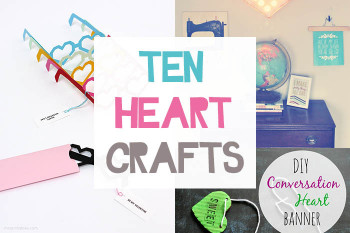 ten heart crafts small
