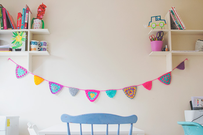 triangle bunting crochet