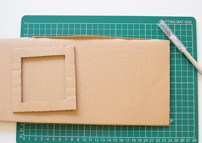 how to make a diy photo frame