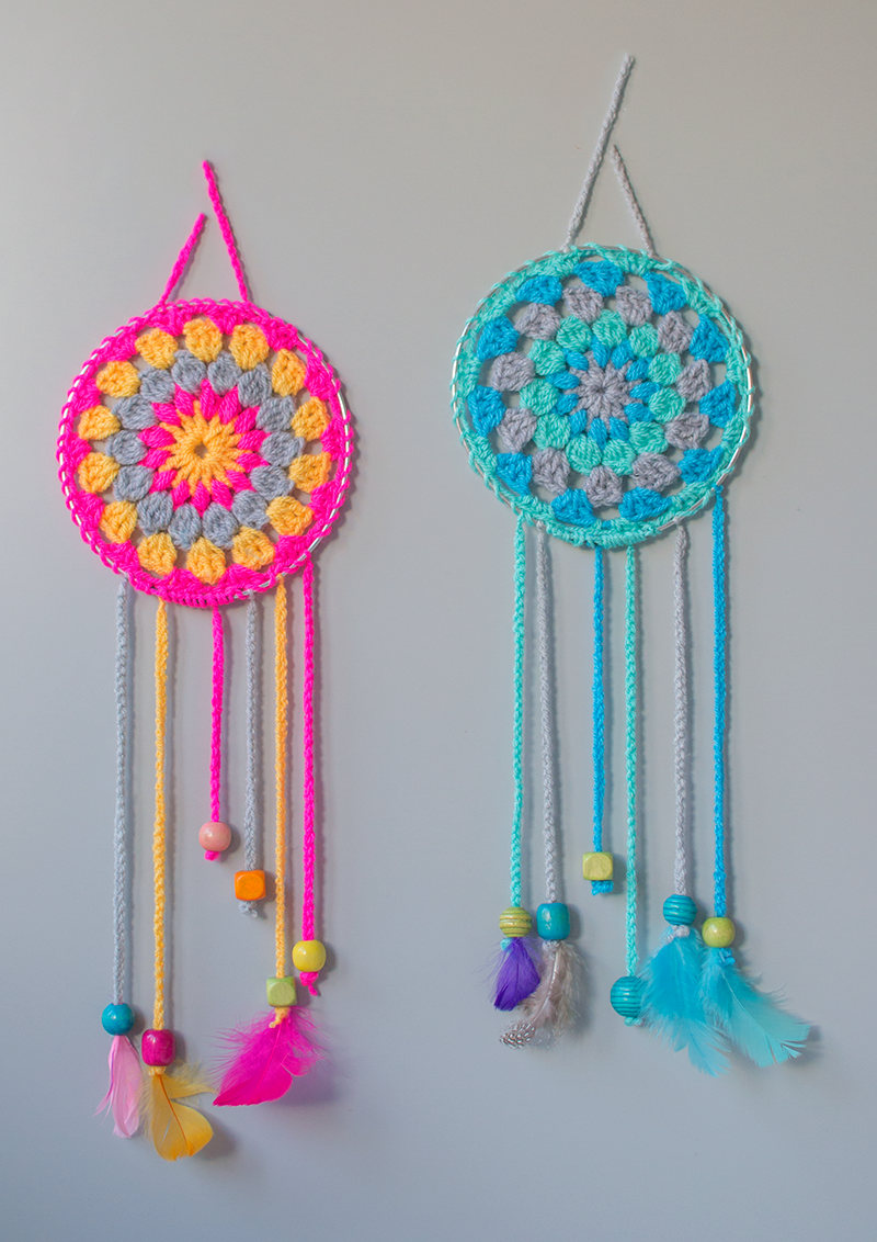 crochet-dream-catchers