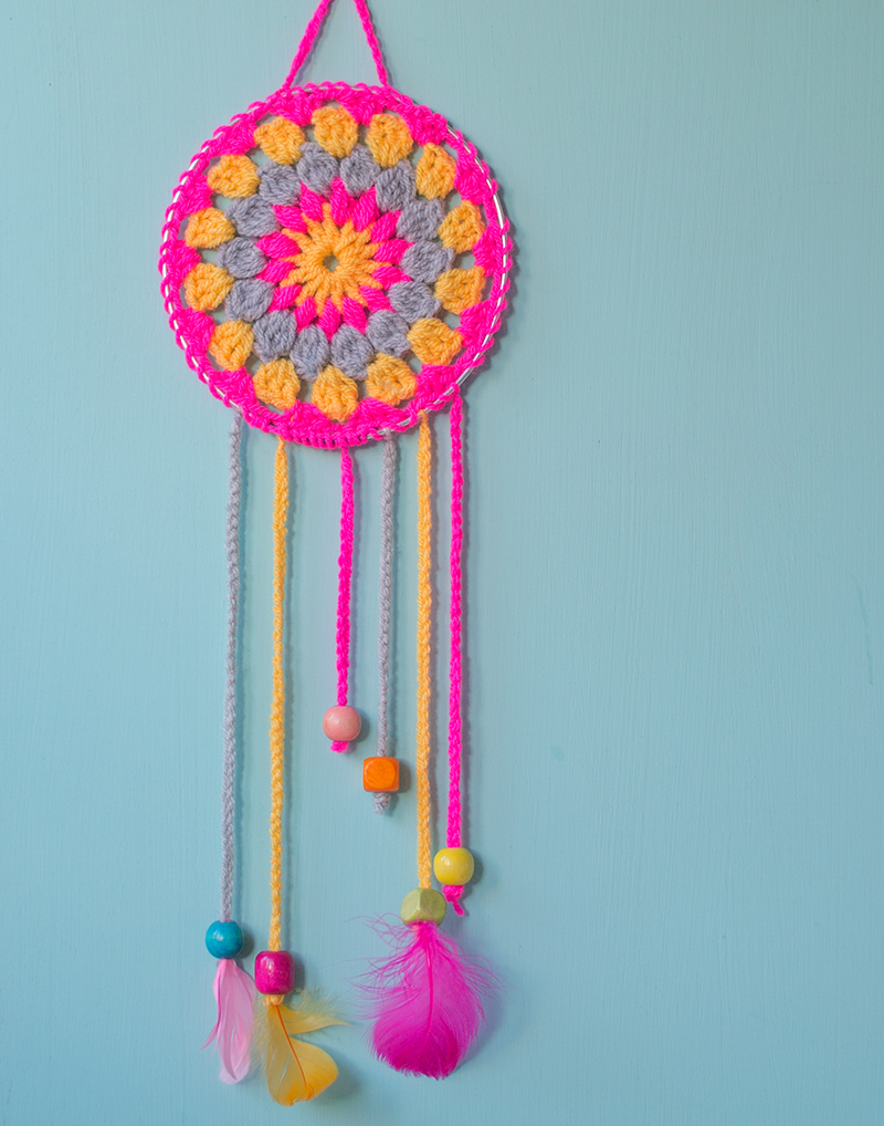 Crochet how to make dream catchers for Dream catchers how to make them