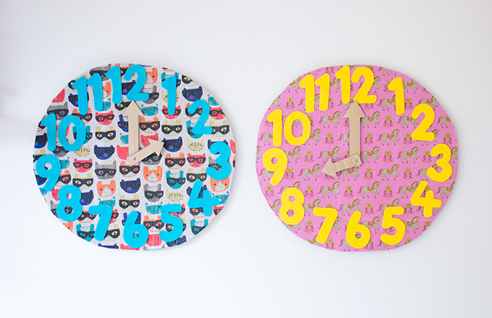diy clocks for kids