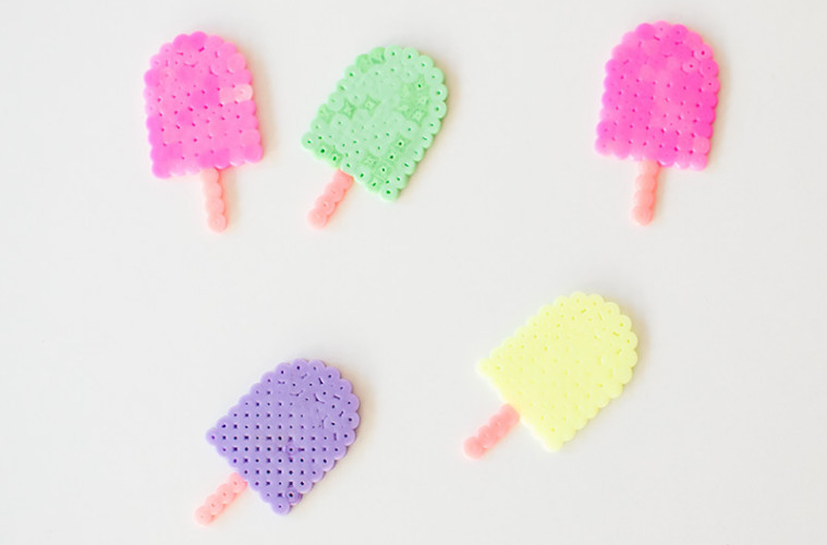 quick and easy hama bead designs ice lollies. Black Bedroom Furniture Sets. Home Design Ideas