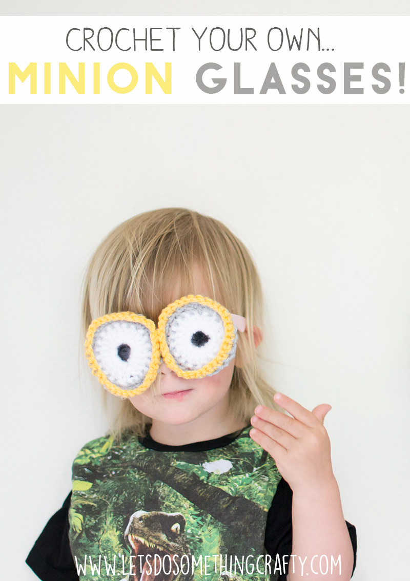 crochet your own Minon goggles