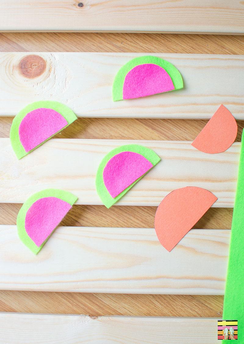 felt-watermelons