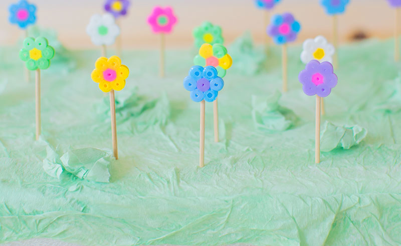 hama-bead-flowers-on-sticks