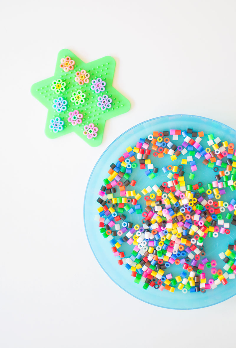 hama-bead-flowers