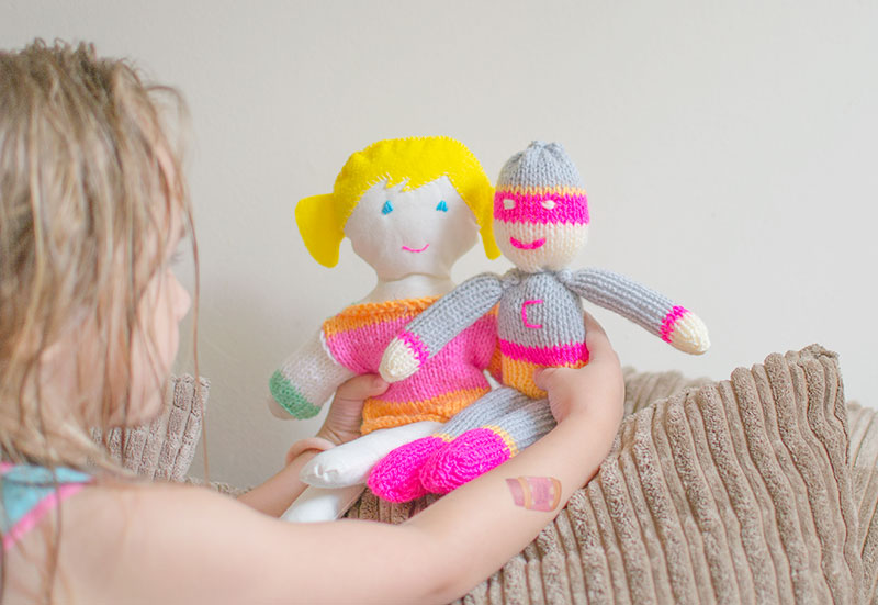 knitted-doll