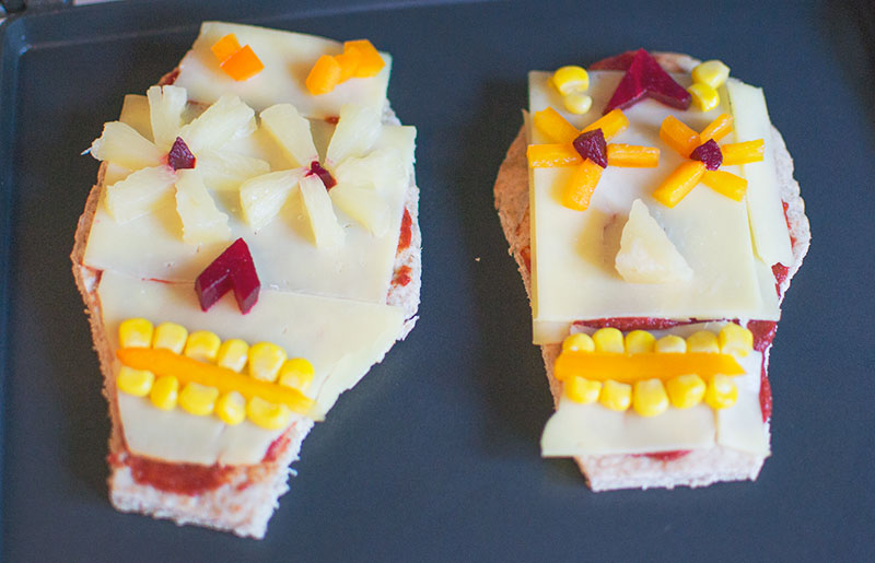day-of-the-dead-pitta-bread-pizzas