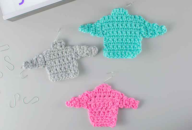 how to crochet mini jumpers