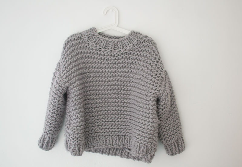 we are knitters nolita knitted jumper