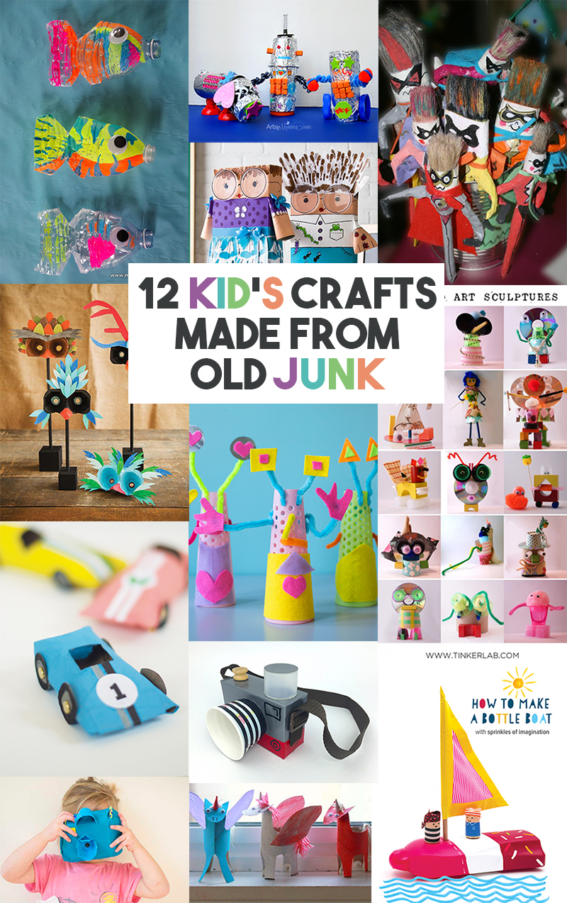 12-kids-crafts-using-old-junk