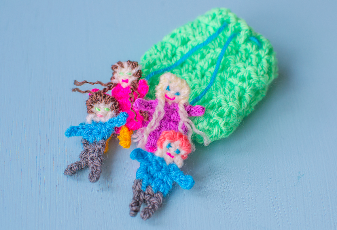 make your own worry dolls