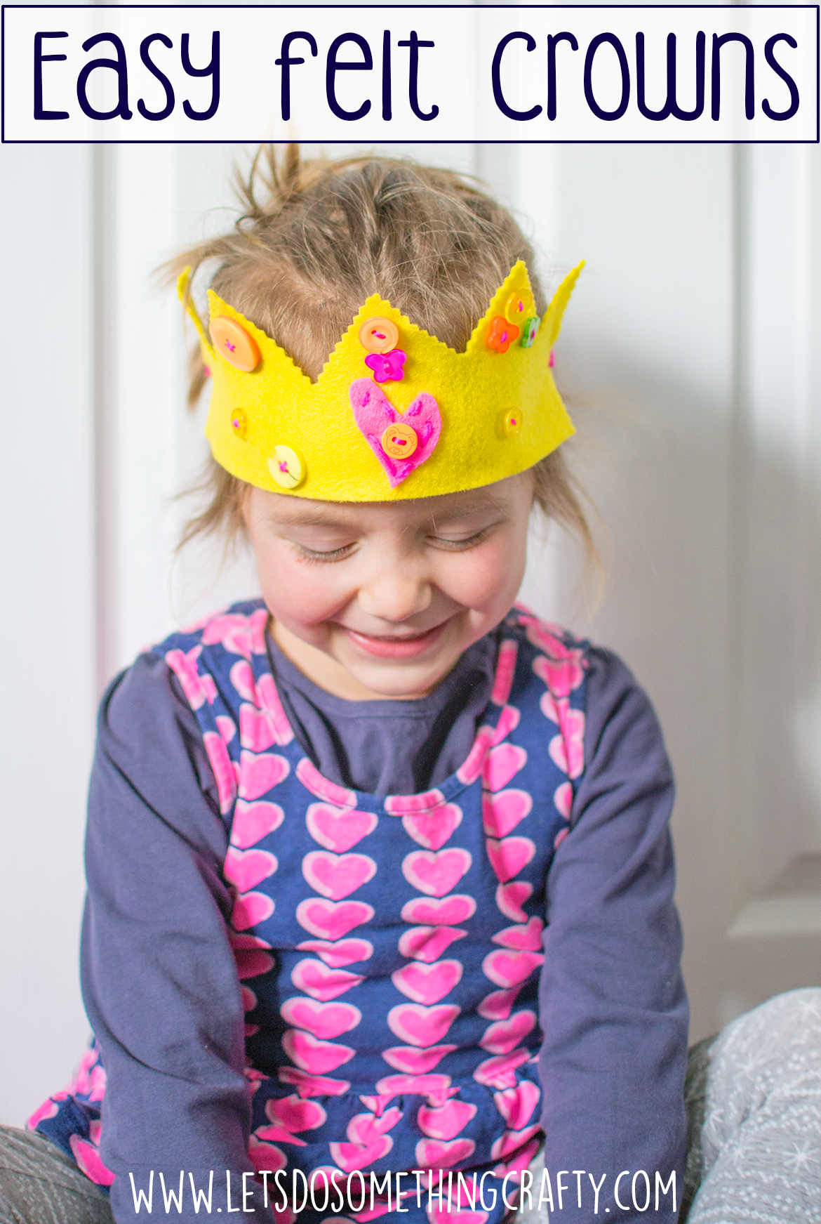 felt crown for kids