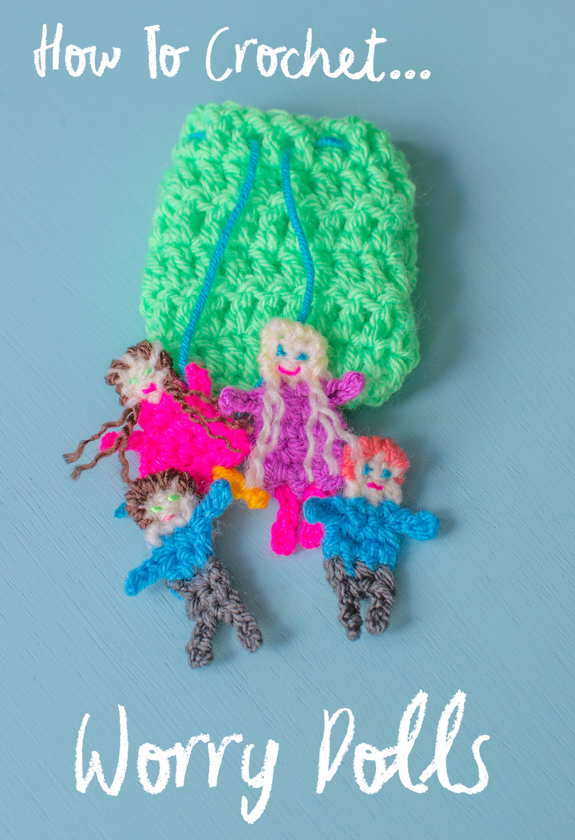 how to crochet worry dolls