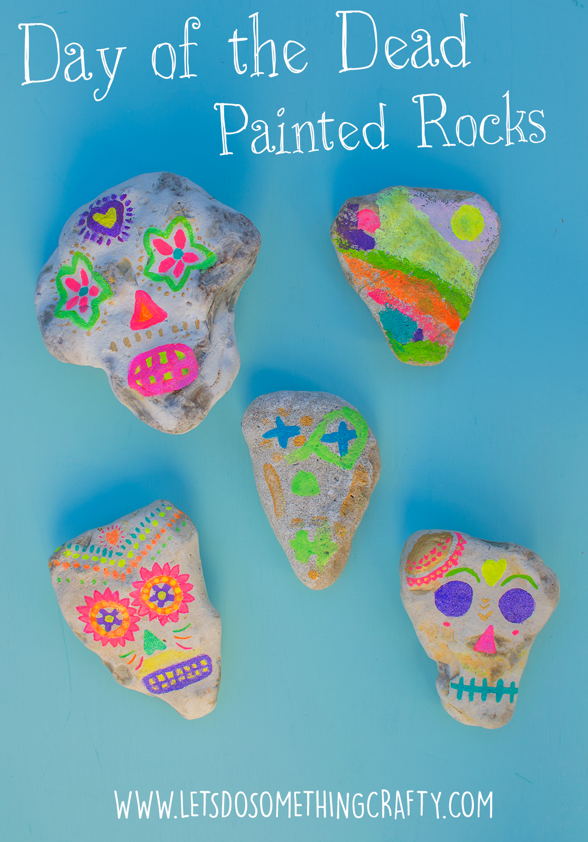 painted-rocks-day-of-the-dead