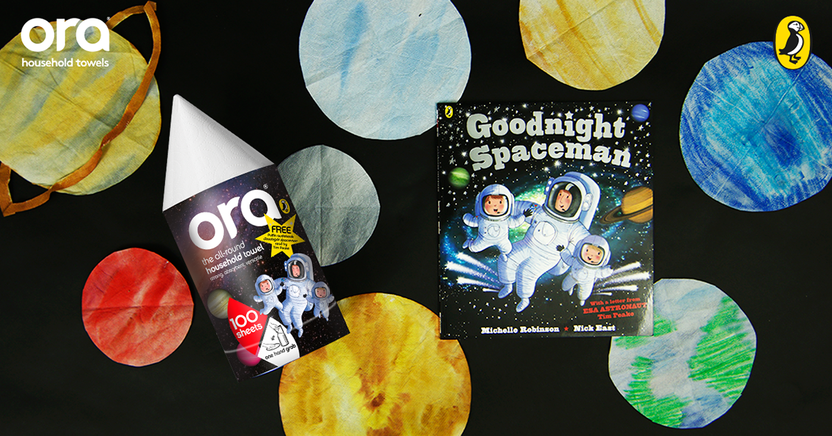 Kid's Crafts: Making Astronauts For Space Week